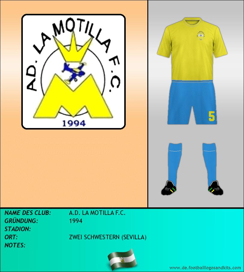 Logo A.D. LA MOTILLA F.C.