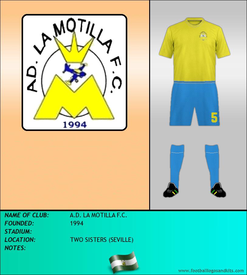 Logo of A.D. LA MOTILLA F.C.