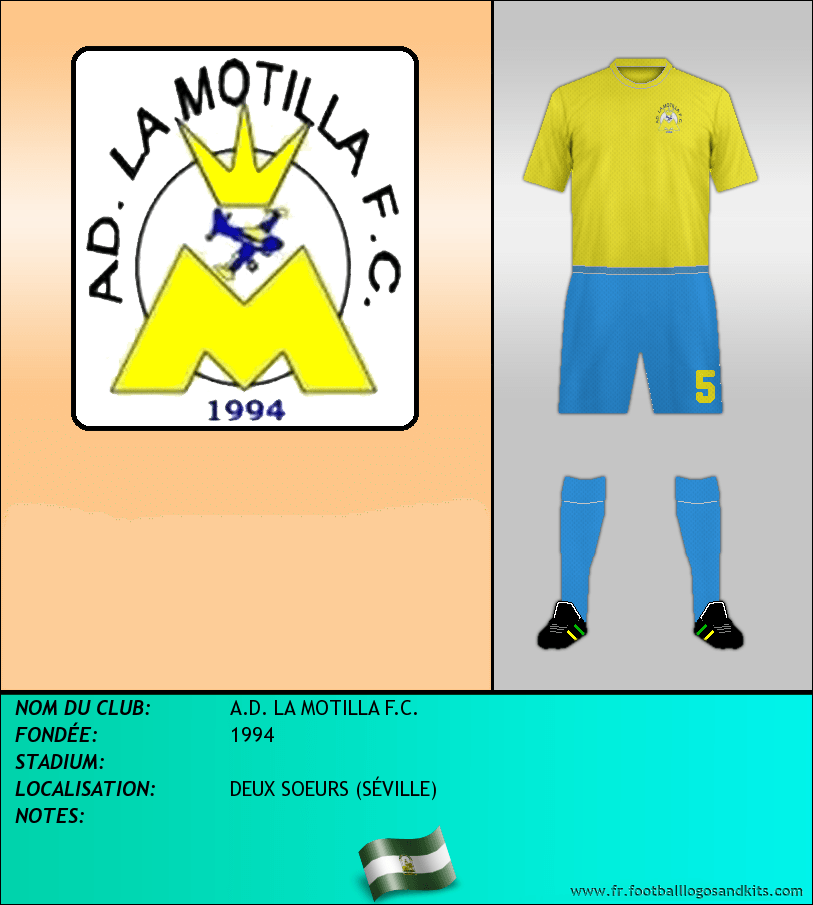 Logo de A.D. LA MOTILLA F.C.