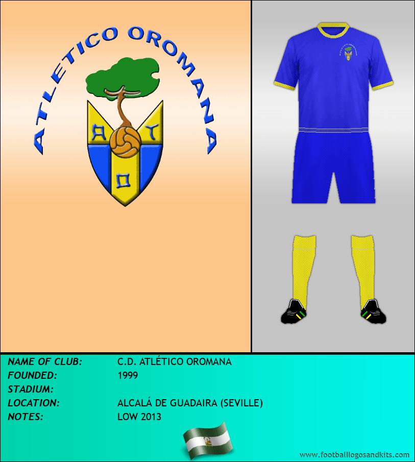 Logo of C.D. ATLÉTICO OROMANA