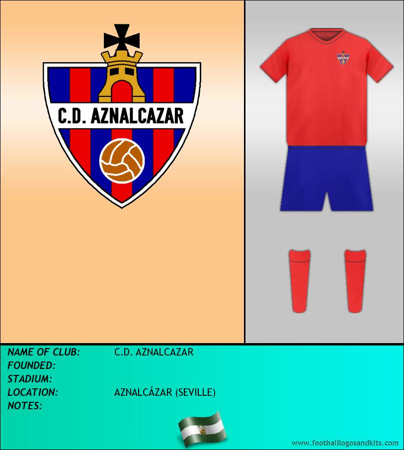 Logo of C.D. AZNALCAZAR