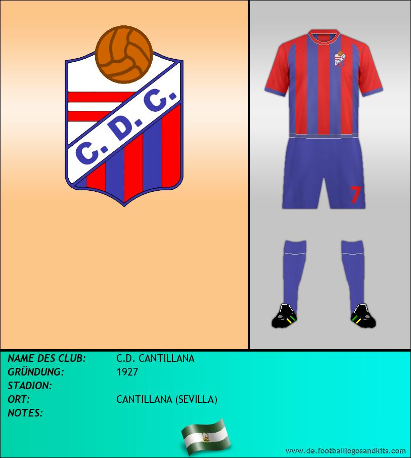 Logo C.D. CANTILLANA