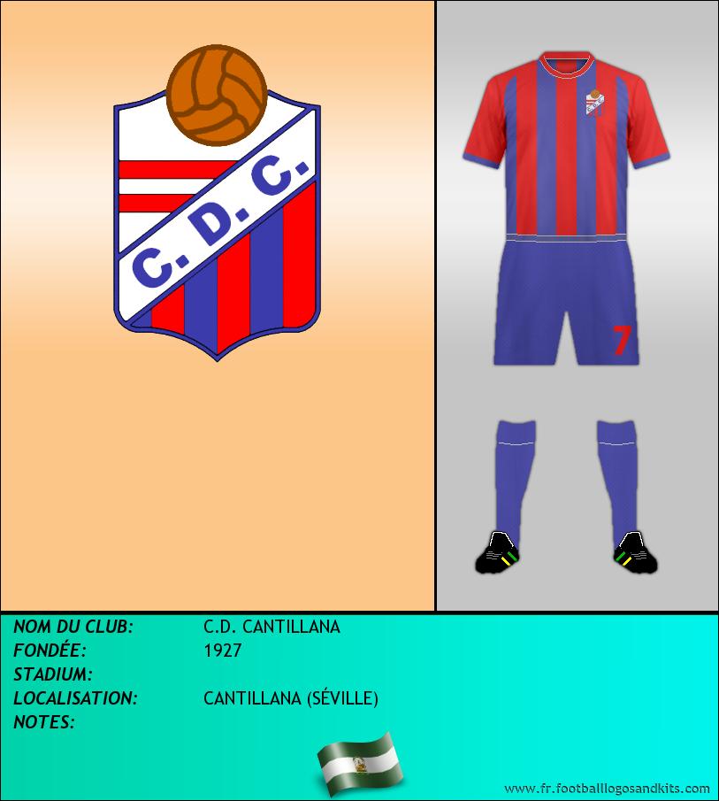 Logo de C.D. CANTILLANA
