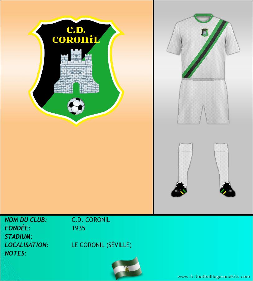 Logo de C.D. CORONIL