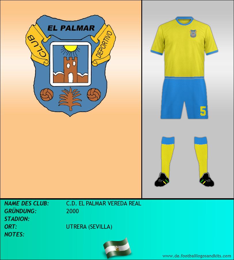 Logo C.D. EL PALMAR VEREDA REAL