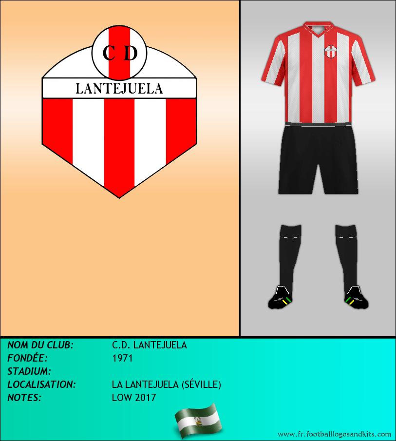 Logo de C.D. LANTEJUELA