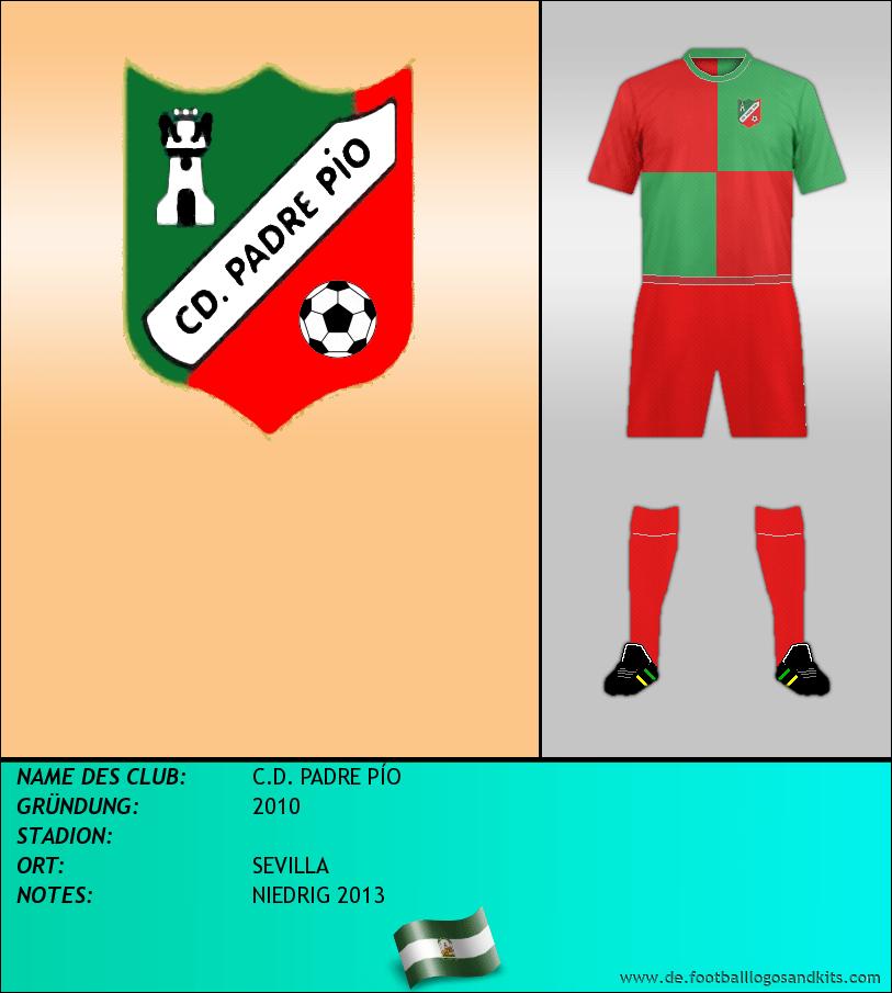 Logo C.D. PADRE PÍO