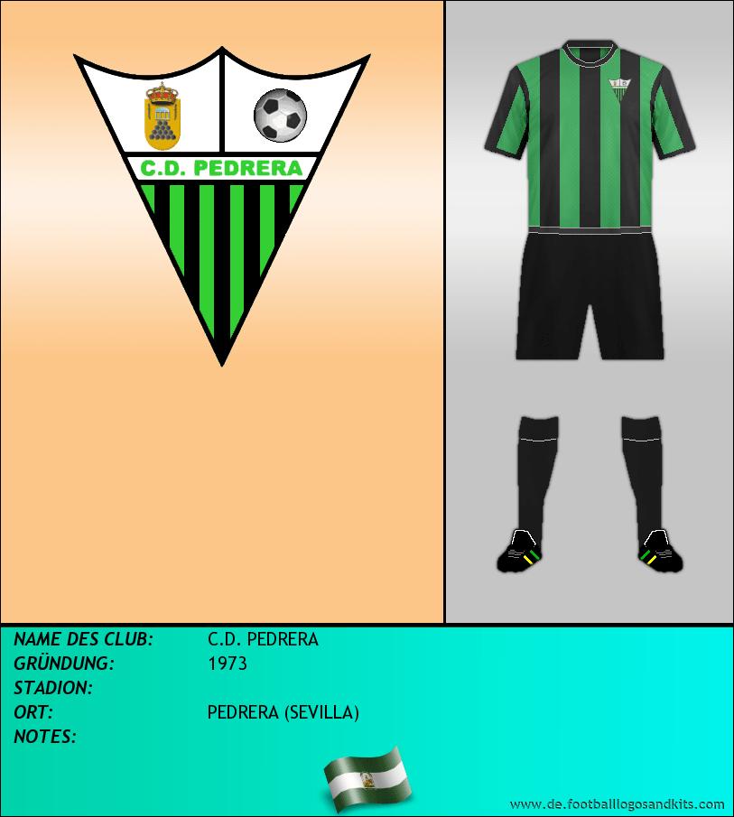 Logo C.D. PEDRERA