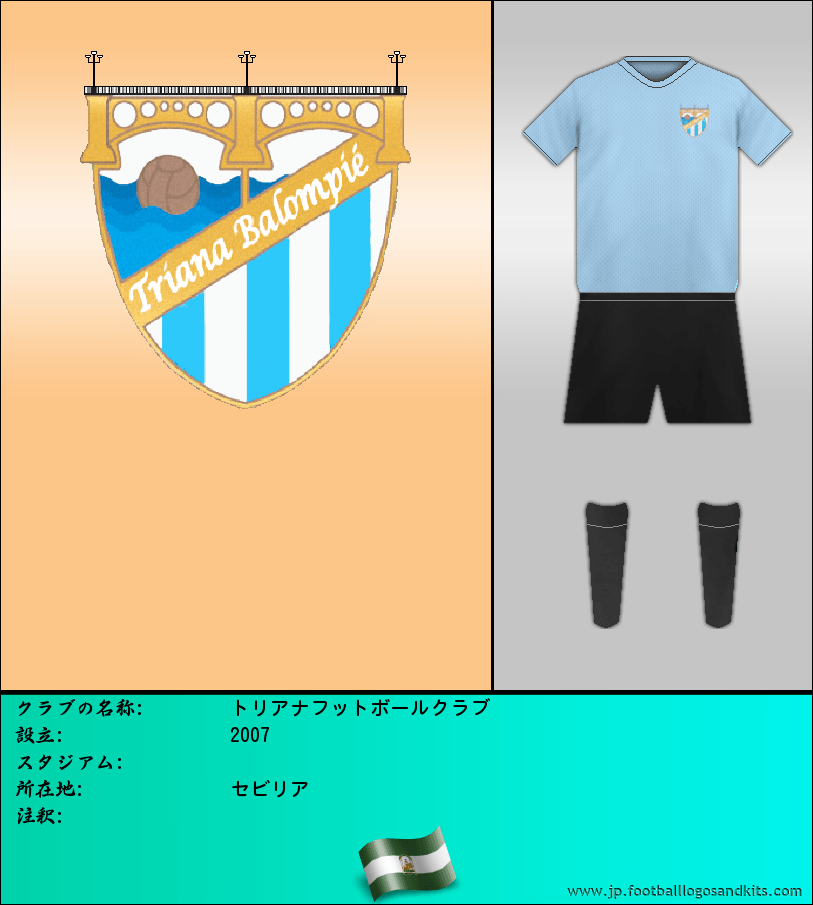 のロゴトリアナフットボールクラブ