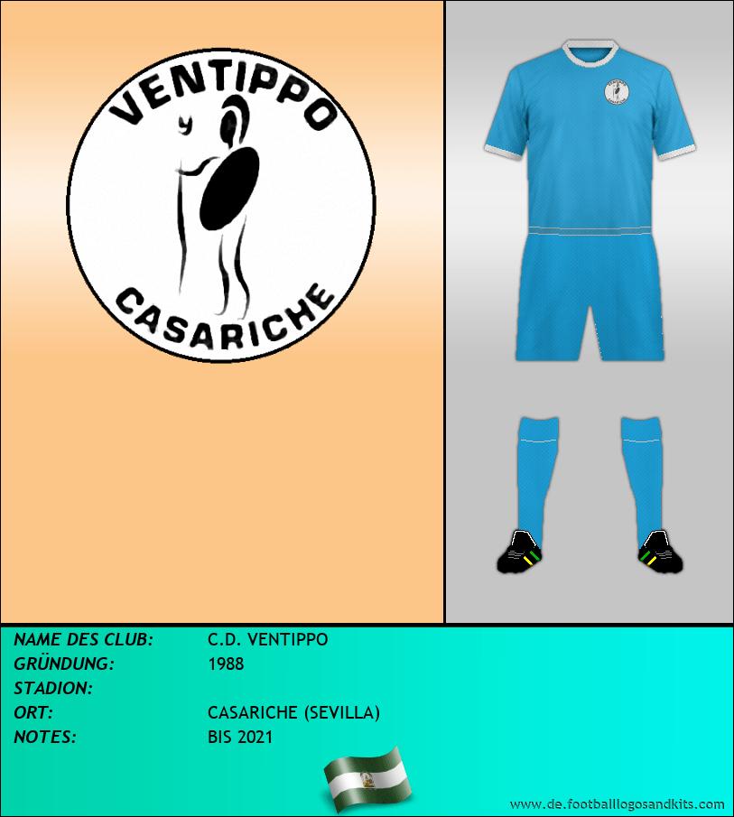 Logo C.D. VENTIPPO
