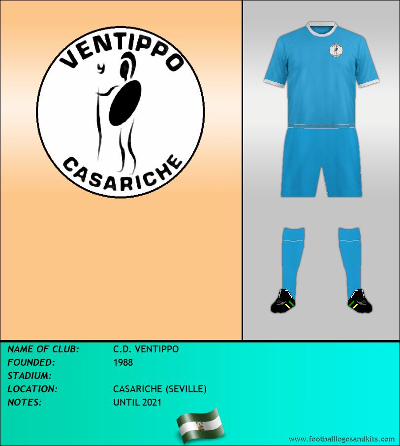 Logo of C.D. VENTIPPO