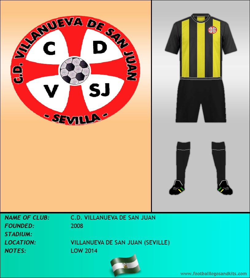 Logo of C.D. VILLANUEVA DE SAN JUAN