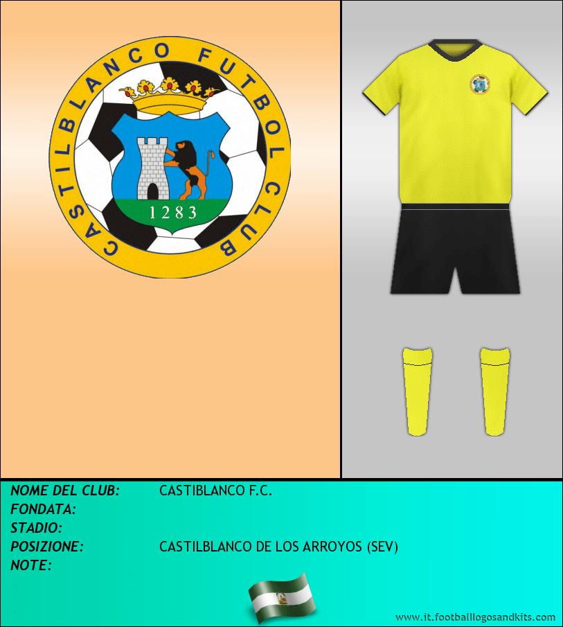 Logo di CASTIBLANCO F.C.