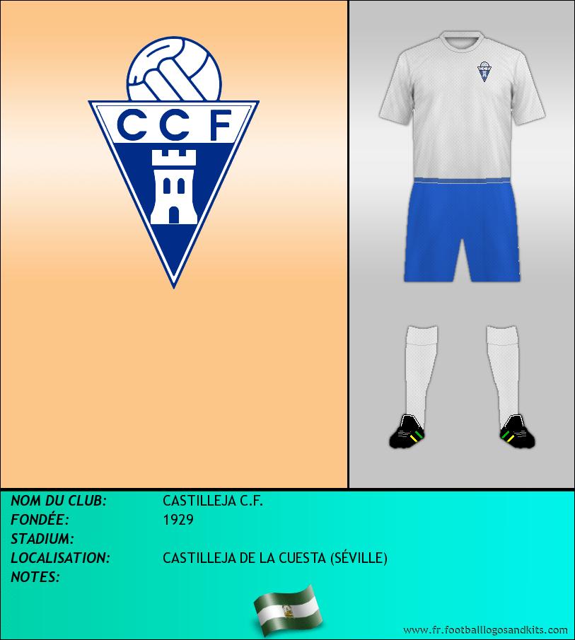 Logo de CASTILLEJA C.F.