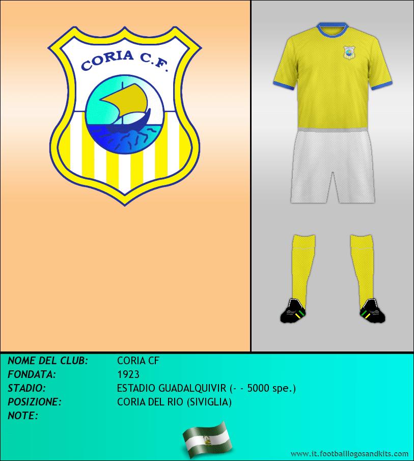 Logo di CORIA CF