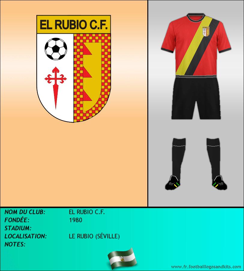 Logo de EL RUBIO C.F.