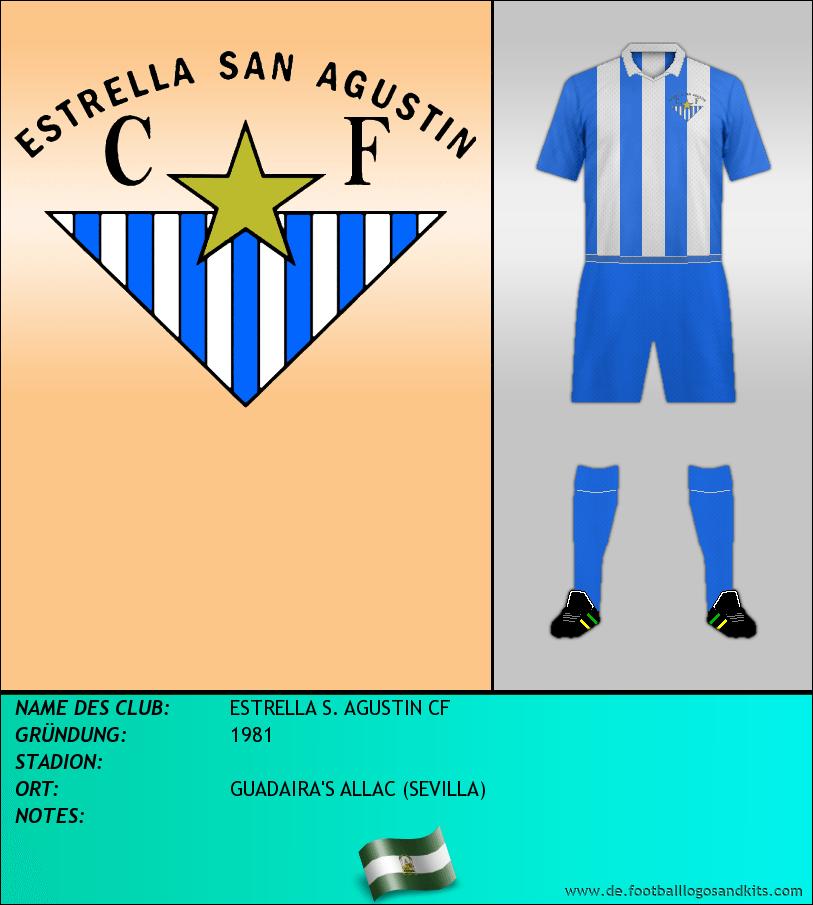 Logo ESTRELLA S. AGUSTIN CF