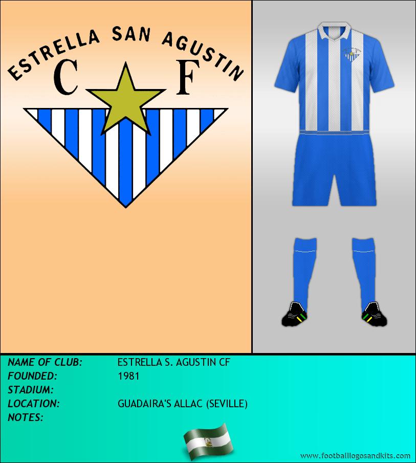 Logo of ESTRELLA S. AGUSTIN CF