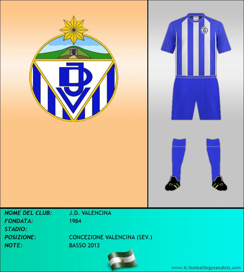 Logo di J.D. VALENCINA