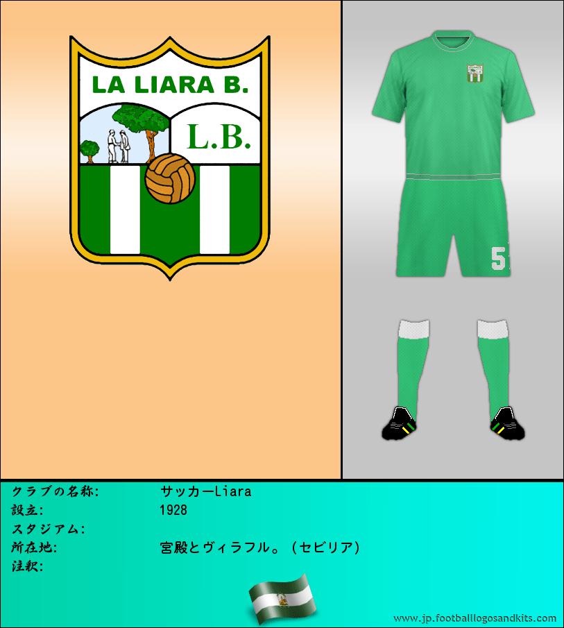 のロゴサッカーLiara