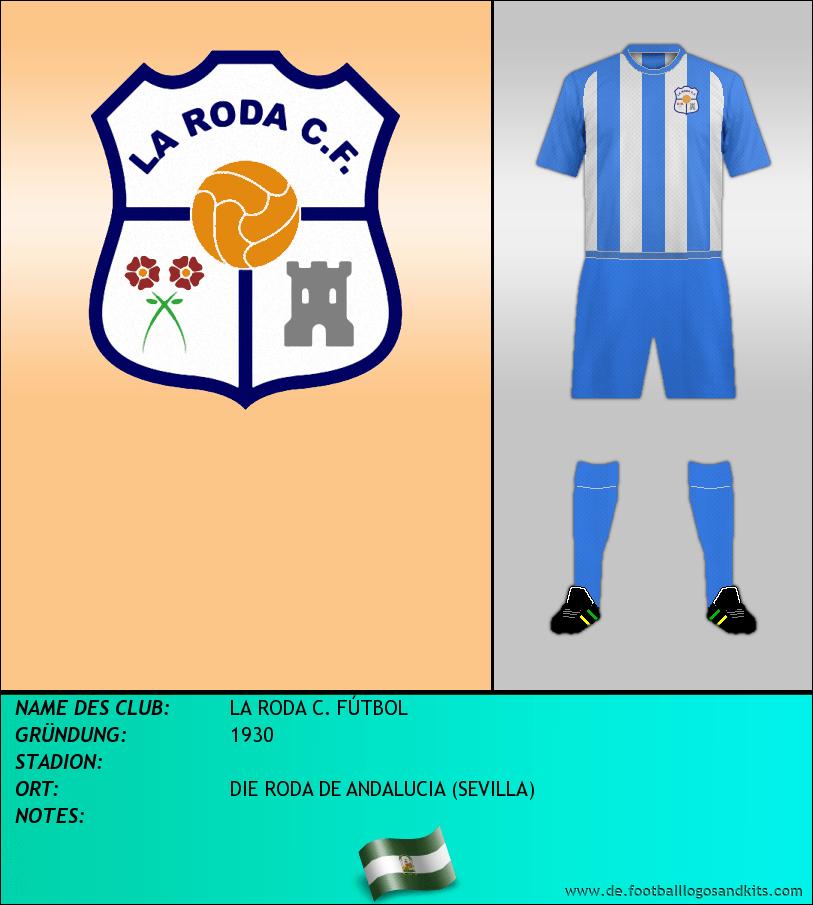 Logo LA RODA C. FÚTBOL