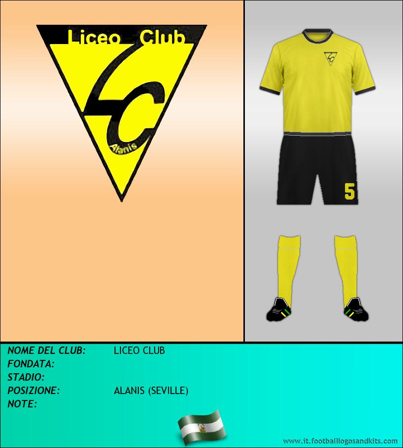 Logo di LICEO CLUB