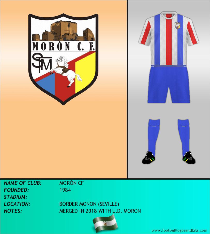 Logo of MORÓN CF