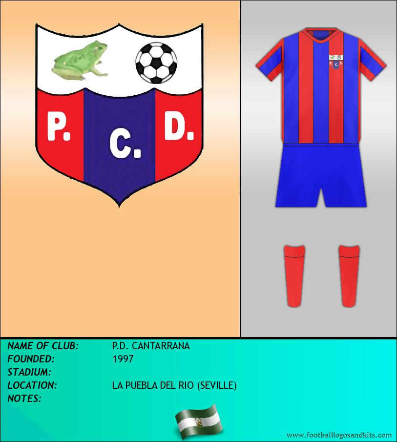 Logo of P.D. CANTARRANA