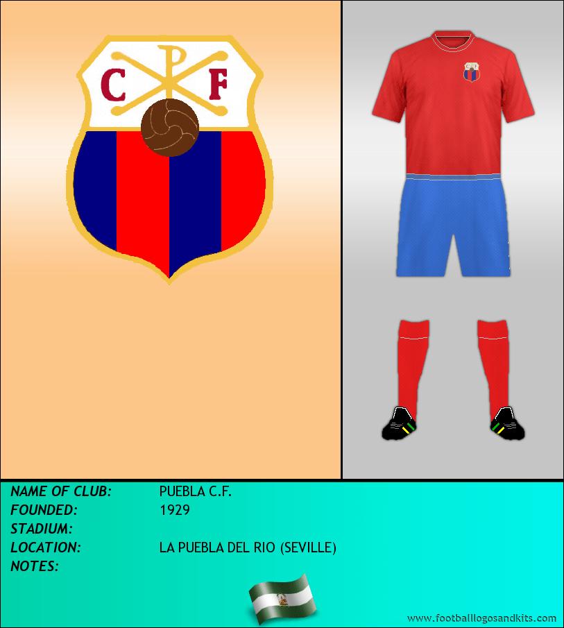 Logo of PUEBLA C.F.