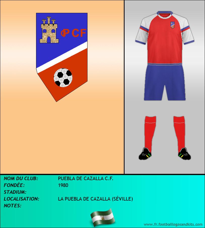 Logo de PUEBLA DE CAZALLA C.F.