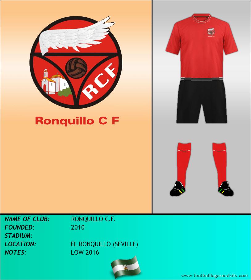 Logo of RONQUILLO C.F.