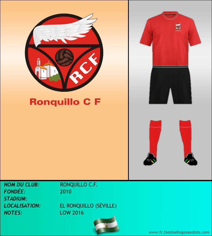Logo de RONQUILLO C.F.