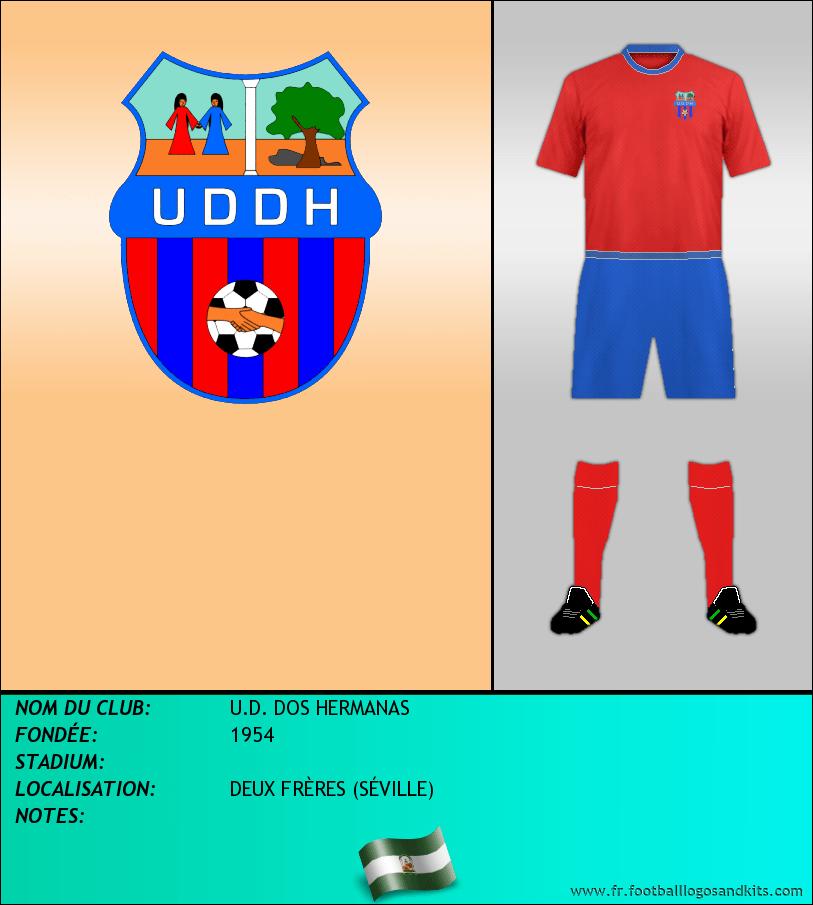 Logo de U.D. DOS HERMANAS