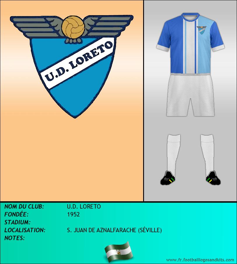 Logo de U.D. LORETO