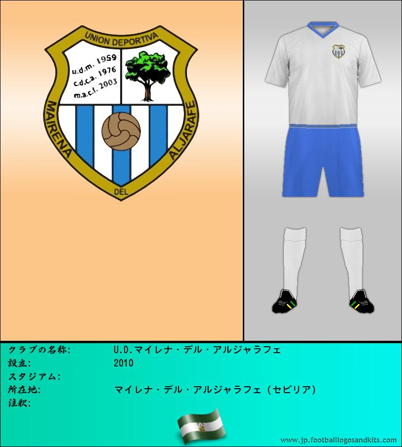 のロゴU.D.マイレナ・デル・アルジャラフェ