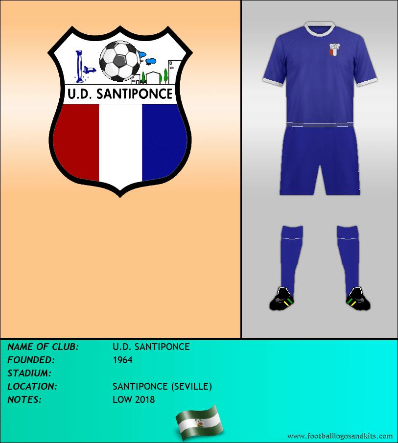 Logo of U.D. SANTIPONCE