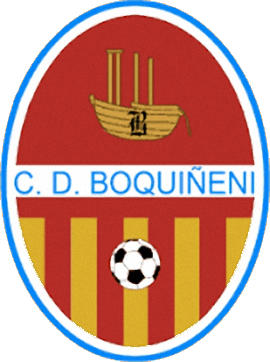 Logo C.D. BOQUIÑENI (ARAGON)