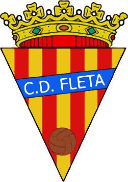Logo C.D. FLETA (ARAGON)