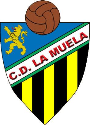 Logo of C.D. LA MUELA. (ARAGON)