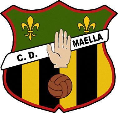 Logo of C.D. MAELLA (ARAGON)