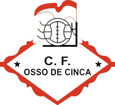 Logo of C.F. OSSO DE CINCA (ARAGON)