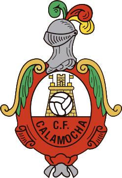 のロゴCALAMOCHA C. F. (アラゴン)