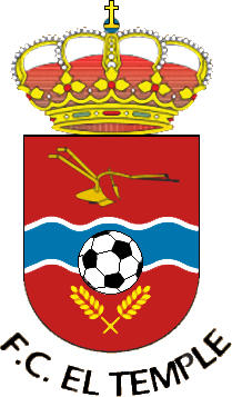 Logo of F.C. EL TEMPLE (ARAGON)