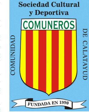Logo of S.C.D. COMUNIDAD DE CALATAYUD COMUNEROS (ARAGON)