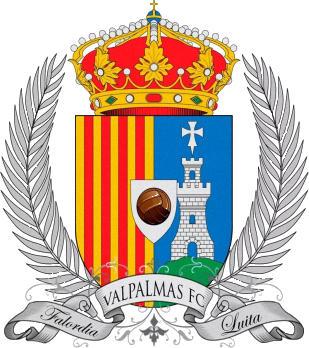 Logo of VALPALMAS F.C. (ARAGON)