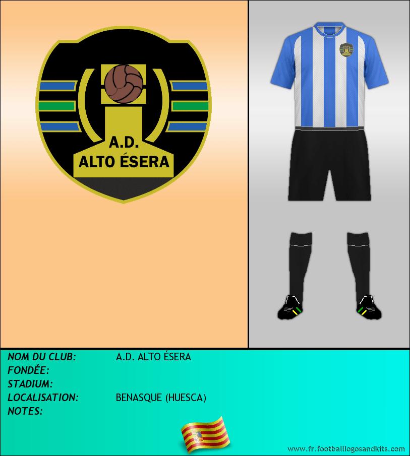 Logo de A.D. ALTO ÉSERA
