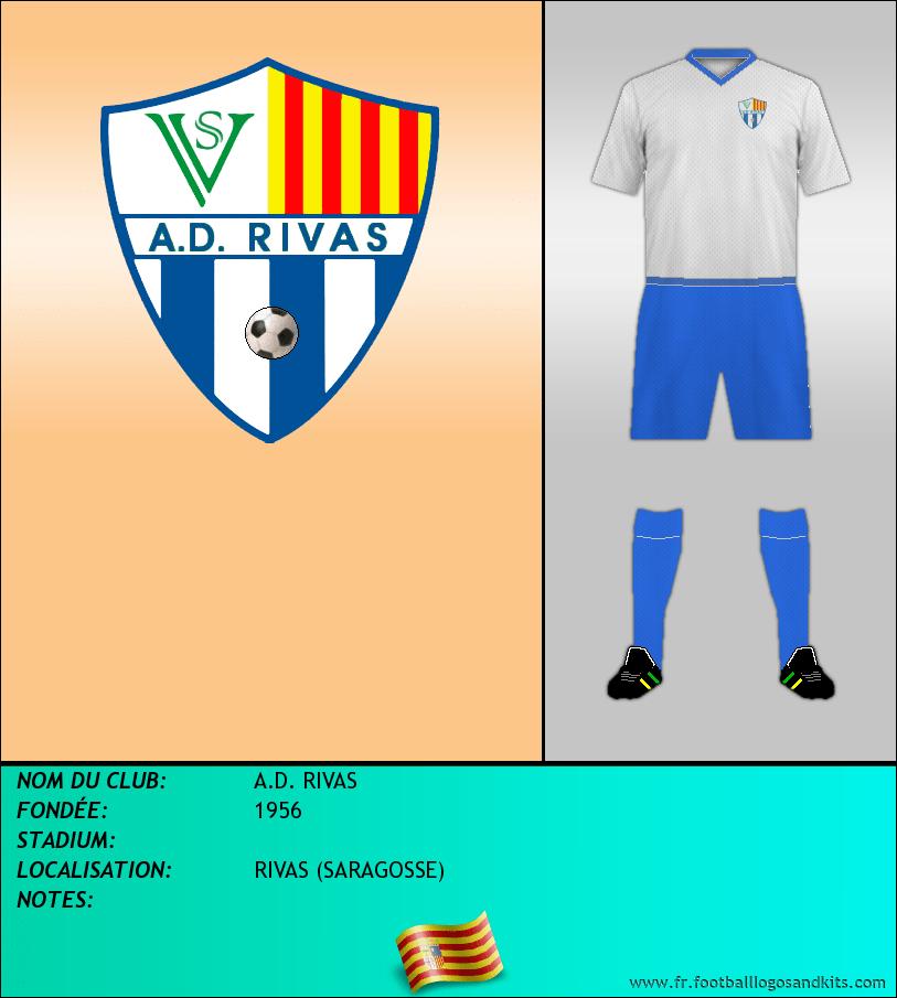 Logo de A.D. RIVAS