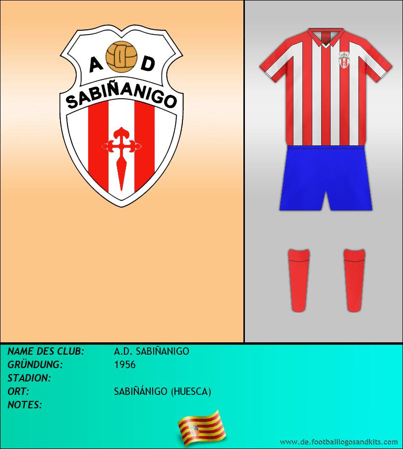 Logo A.D. SABIÑANIGO