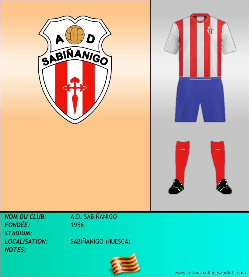 Logo de A.D. SABIÑANIGO
