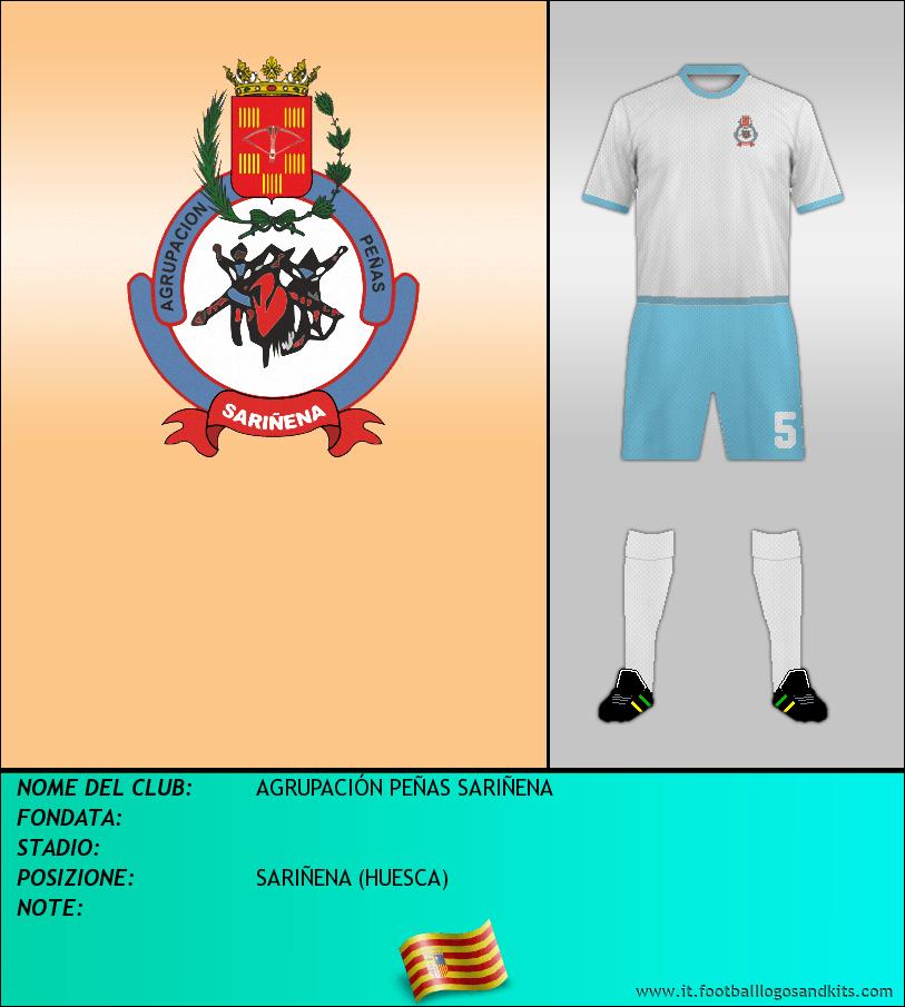 Logo di AGRUPACIÓN PEÑAS SARIÑENA
